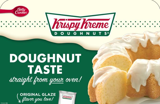 General Mills Krispy Kreme Partnership Lindsey Frey